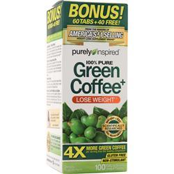 Iovate Purely Inspired Green Coffee Bean On Sale At