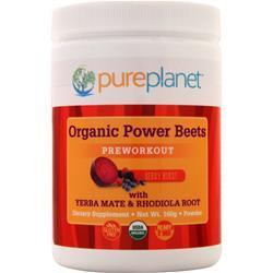 Pure Planet Organic Power Beets - Preworkout Berry Burst 160 grams