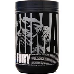 Universal Nutrition Animal Fury - The Complete Pre-Workout Stack Blue Raspberry 491.7 grams