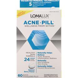 Loma Lux Laboratories Acne Pill Natural Berry 60 tabs