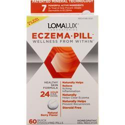 Loma Lux Laboratories Eczema Pill Natural Berry 60 tabs