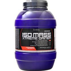 Ultimate Nutrition Iso Mass Xtreme Gainer Strawberry Milkshake 10 lbs