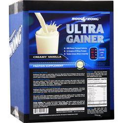 BodyStrong Ultra Gainer Creamy Vanilla 12 lbs
