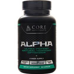 Core Nutritionals Core Alpha 56 caps