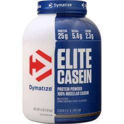 Dymatize Nutrition Elite Casein Protein Cookies & Cream 4 lbs