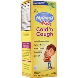 Hylands Homeopathic 4Kids Cold n' Cough 4 fl.oz