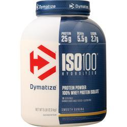 Dymatize Nutrition ISO-100 Smooth Banana 5 lbs