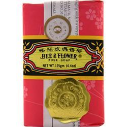Bee And Flower Rose Soap 4.4 oz