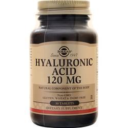 Solgar Hyaluronic Acid (120mg) 30 tabs