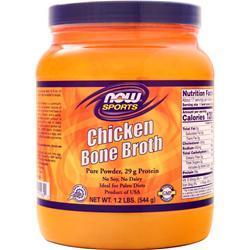 Now Chicken Bone Broth Powder 1.2 lbs