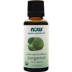 Now Certified Organic &100% Pure Bergamot 1 fl.oz