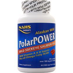 North American Herb & Spice PolarPower - Wild Sockeye Salmon 60 sgels