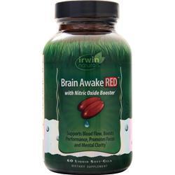 Irwin Naturals Brain Awake Red 60 sgels