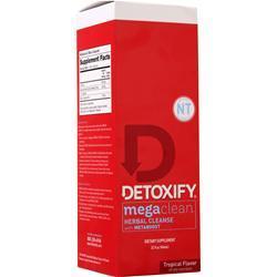 Detoxify Mega Clean NT - Herbal Cleanse Tropical Flavor 32 fl.oz