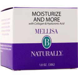 Mellisa B Naturally Moisturize and More With Collagen & Hyaluronic Acid 1 oz