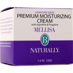 Mellisa B Naturally Premium Moisturizing Cream With Argireline & Progeli 1 oz