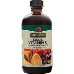 Nature's Answer Vitamin C Liquid Natural 8 fl.oz