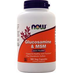 Now Glucosamine & MSM 180 vcaps