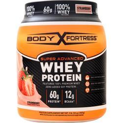 Body Fortress Super Advanced Whey Protein Strawberry 2 lbs