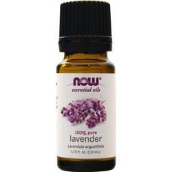 Now 100% Pure Lavender Oil .3 fl.oz