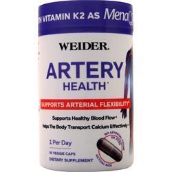 Weider Artery Health 30 vcaps