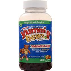 Yummi Bears Wholefood Fruit + Veggie 200 bears
