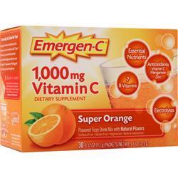 Alacer Emergen-C Super Orange 30 pckts