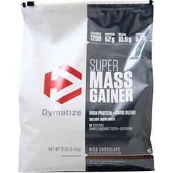 Dymatize Nutrition Super Mass Gainer Rich Chocolate 12 lbs