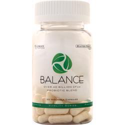 Ultimate Nutrition Balance Probiotic Blend 30 vcaps
