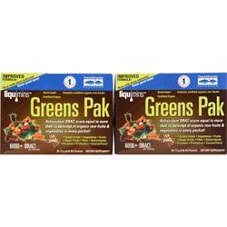 Trace Minerals Research Greens Pak (Buy one Get one Free) Berry 60 pckts