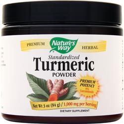 Nature's Way Turmeric - Standardized Powder (1000mg) 3 oz