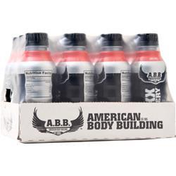 American Bodybuilding Maxx Recovery RTD Fruit Punch 12 bttls