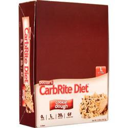 Universal Nutrition Doctor's Diet CarbRite Bar Cookie Dough 12 bars