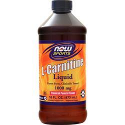 Now L-Carnitine Liquid (1000mg) Tropical Punch 16 fl.oz