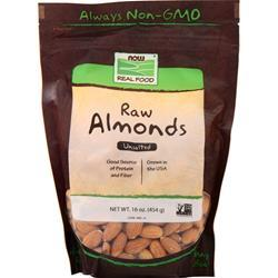 Now Natural Unblanched Almonds 1 lbs