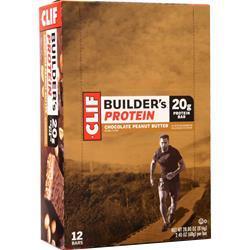 Clif Bar Builder's Bar Chocolate Peanut Butter 12 bars
