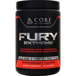 Core Nutritionals Fury Extreme Strawberry Colada 459 grams