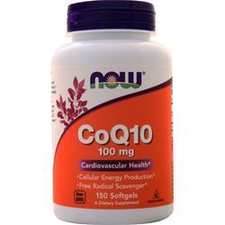 Now CoQ10 (100mg) 150 sgels