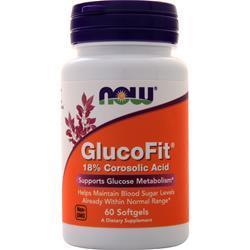 Now GlucoFit 60 sgels