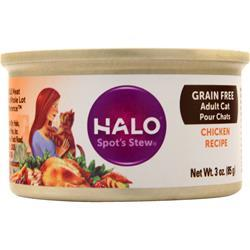 Halo Spot's Stew for Cats Chicken 3 oz