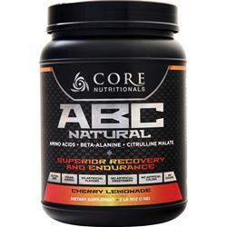 Core Nutritionals ABC Natural - Superior Recovery and Endurance Cherry Lemonade 1 kg