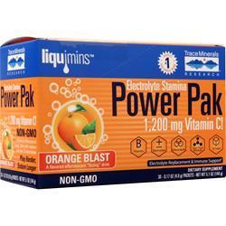 Trace Minerals Research Electrolyte Stamina Power Pak Orange Blast 30 pckts