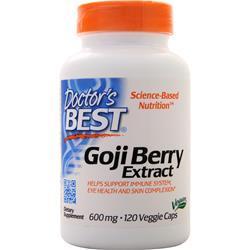 Doctor's Best Best Goji Berry Extract (600mg) 120 vcaps