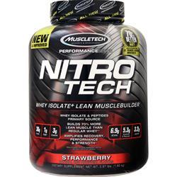 Muscletech Nitro Tech - Performance Series Strawberry 3.97 lbs