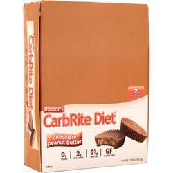 Universal Nutrition Doctor's Diet CarbRite Bar Chocolate Peanut Butter 12 bars