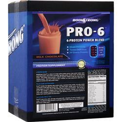 BodyStrong Pro-6 Protein Power Blend Milk Chocolate 10 lbs