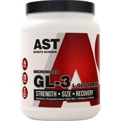 AST GL3 - Micronized L-Glutamine 42.33 oz