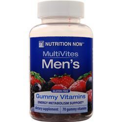 Nutrition Now MultiVites Men's 70 gummy