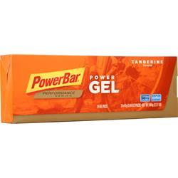 PowerBar PowerGel - Performance Energy Gel Tangerine w/ 2X Caffeine 24 pack