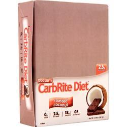 Universal Nutrition Doctor's Diet CarbRite Bar Toasted Coconut 12 bars